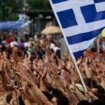 Anti-austerity protest in Greece