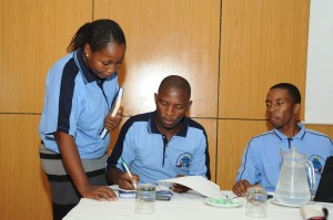 Members of BNASW on World Social Work Day 2014