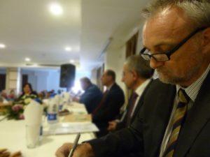 Dr Rory Truell, IFSW Secretary-General