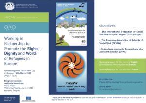Leaflet WSWD 2016 in Brussels