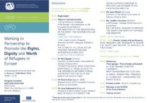 Programme WSWD 2016 in Brussels
